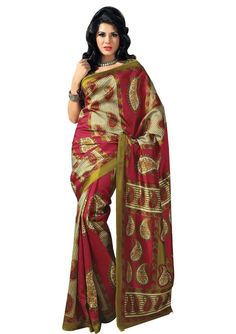 "Colorful Art Designer #Masakali Saree ONLY for 599/-.  100/- Discount on Coupon Code ""EQ100"".  FREE SHIPPING 