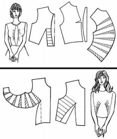 Sensational Tips Sewing Pattern Ideas. Brilliantly Tips Sewing Pattern Ideas. Easy Sewing Patterns, Clothing Patterns, Sewing Tutorials, Sewing Projects, Pattern Draping, Sewing Blouses, Modelista, Make Your Own Clothes, Pattern Cutting