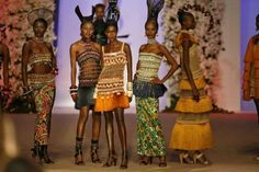 Collection Africaine....d'Yves Saint Laurent en 1968 !