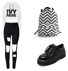 """Megg"" by torimnz on Polyvore featuring moda, Topshop e WithChic"