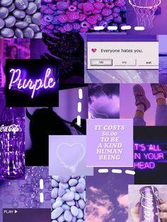 Purple aesthetic💜 | Aesthetic iphone wallpaper, Iphone wallpaper girly, Iphone wallpaper tumblr aesthetic