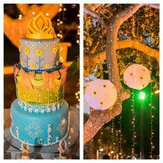 Muitos girassóis, luzes e delicadeza! Bolo lindo e delicioso da @confeitariasiriguela apaixonada pelos olafinhos ( espirros da Elsa ) presente na festa. #festafrozen #bolofrozen #festafrozen2 #partyideas #partyfrozen #Raquelfaz7 #festademenina #frozenfever