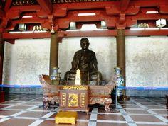 Statue of Xuanzang. Wild Goose Pagoda, Xi'an
