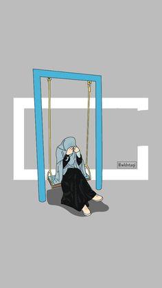 Love Cartoon Couple, Cute Couple Art, Cute Emoji Wallpaper, Mood Wallpaper, Hijab Drawing, Ariana Grande Drawings, Islamic Cartoon, Anime Muslim, Watercolor Architecture