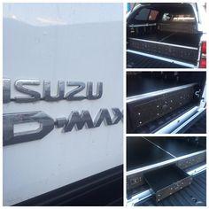 Isuzu D-Max Load Bed Drawer System. #ISUZU #ISUZUDMAX #SPEAKISUZU #DMAX  #ISUZUUK #Isuzufanpic #betterbydesign #animaltransitboxes