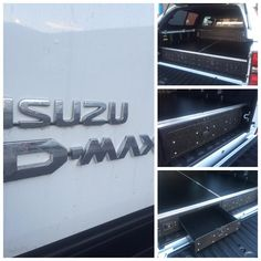 Isuzu D-Max Load Bed Drawer System. #ISUZU #ISUZUDMAX #SPEAKISUZU #DMAX  #ISUZUUK #Isuzufanpic #betterbydesign #animaltransitboxes