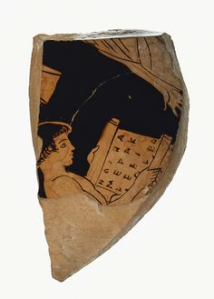 Schoolboys of Ancient Greece were made to memorize...   The Getty