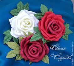 Znalezione obrazy dla zapytania цветы из фоамирана на упаковке