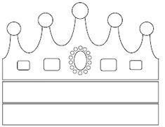 Sorrisos de Criança: Moldes de coroas - reis magos Opening Day, Stencils, Symbols, Lettering, School, Kids, How To Make Tiara, King And Queen Crowns, Fabric Ribbon