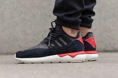 adidas Originals Tubular Moc Runner Core Black/Tomato