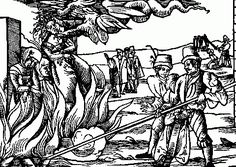 Witch fever gripped East Anglia for 14 terrible months between 1645 - 1646. The people of these eastern counties were solidly Puritan and rabid anti-Catholics and easily swayed by bigoted preachers whose mission was to seek out the slightest whiff of heresy. A man called Matthew Hopkins, an unsuccessful lawyer, came to help (!) He became known as the 'Witch-finder General' . He had 68 people put to death in Bury St. Edmunds alone, and 19 hanged at Chelmsford in a single day