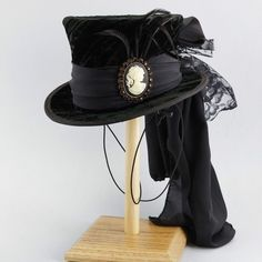 Mini Top Hat-Fascinator, Steampunk,Tea Party,Wedding,Ascot,Uncle Sam – Tall Toad Riding Hats, Tea Party Wedding, Costume Hats, Crown Headband, Super Hero Costumes, Hat Hairstyles, Ascot, Toad, Headgear