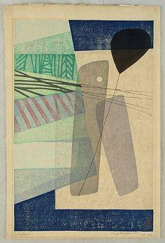 Chizuko Yoshida born 1924 - Windows - artelino Art Auctions.