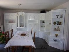 Avant/Après Artisanal, Closet, Home Decor, Walnut Cabinets, Milk Paint, Oak Doors, Armoire, Decoration Home, Room Decor
