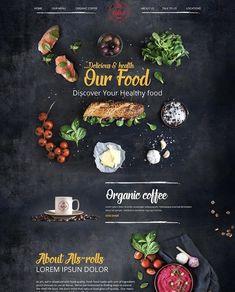 Site Portfolio, Ui Design, Graphic Design, Healthy Recipes, Healthy Food, Kitchen Art, Web Design Inspiration, Kitchen Recipes, Ui Ux