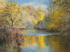 Shades of Autumn, Chee Dale Derbyshire  ~ Rex Preston