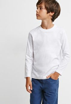 Forever 21 is the authority on fashion & the go-to retailer for the latest trends, styles & the hottest deals. Modern Boy Haircuts, Boy Haircuts Long, Toddler Boy Haircuts, Little Boy Haircuts, Boys Long Hairstyles, Baby Haircut, Haircut Short, Forever 21, Shop Forever