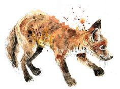 fox  #Art #Fox #Foxes