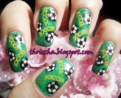 fabulous soccer nails | My FAB BLOG LIST