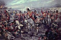 Scotland yet onto Victory by Richard Caton Woodville. - Cranston Fine Arts Aviation, Military and Naval Art