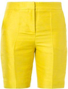 Pin for Later: Die schönsten Shorts fürs Büro  Markus Lupfer Shorts in gelb (ursprünglich 470 €, jetzt 235 €)