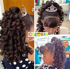 Hair updos for kids pony tails Ideas Cute Hairstyles For Kids, Work Hairstyles, Flower Girl Hairstyles, Little Girl Hairstyles, Pretty Hairstyles, Wedding Hairstyles, Medium Hair Styles, Short Hair Styles, Hairstyle Ideas