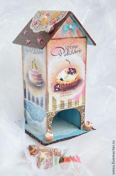 """Кухня ручной работы. Ярмарка Мастеров - ручная работа Чайный домик """"Вкусняшка"""". Handmade."""