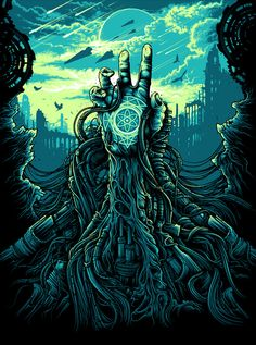 Cognizance - Created for the band Cognizance for their EP, Inceptum. Art by Dan Mumford