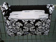 Super Large Size Coupon Organizer / Budget by GrandmasLittleLilly, $19.95