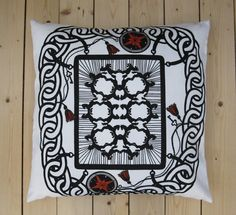 Screenprinted textiles and illustration