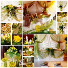 Olive Green Wedding | Let us help you with all the details for your perfect day! www.PerfectDayWeddingPlanners.com