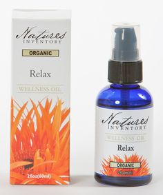 This Nature's Inventory Relax Wellness Oil by Nature's Inventory is perfect! #zulilyfinds