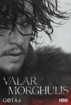 Valar Morghulis: 20 Posters For 'Game Of Thrones' Season 4 Plus Stark Family, Tyrion & Daenerys Teaser Trailers | The Playlist
