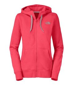 The North Face Logo Full-Zip Hoodie – Women's « Clothing Impulse