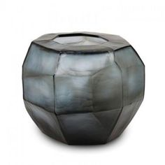 CUBISTIC ROUND smokegrey Guaxs - Shop online interior decoration by GUAXS. Premium designer vases and bowls, own your original today. Luxury Home Decor, Luxury Homes, Cut Glass, Glass Art, Artwork For Living Room, Round Vase, Glass Vessel, Vases Decor, Accent Pieces