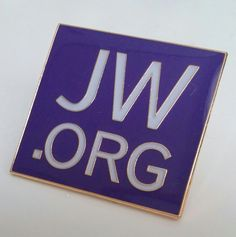 JW.ORG Lapel Pin Violet by JWItem on Etsy