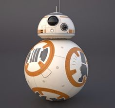 BB-8 from Star Wars Episode VII The Force Awakens