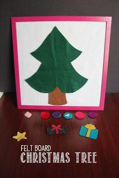 Felt Board Christmas Tree