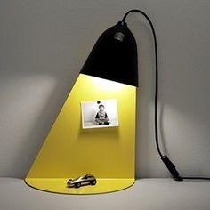 Even when a lamp is off, it still has the emotional function. In order to visualize it, the light from the lampshade has been designed as a stand of lamp. Shelf Lamp, 50 Off Sale, Unique Lighting, Plank, Shelves, Display, Led, Lights, Awesome Things
