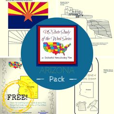 US State Study of the Week Series FREE Arizona Pack - Enchanted Homeschooling Mom