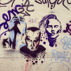 StreetArt/ Graffiti - Place Gabriel Rambaud, Lyon (Photos by My Urban Island)