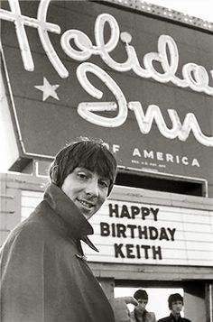 Keith Moon before Holiday Inn banned him for life!