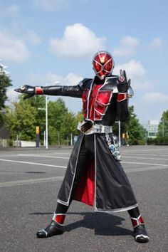 Kamen Rider Wizard./Wizard and magic-themed kamen rider next in the line... Not too keen on the typical-sounding storyline and I think the cool factor that fanboys are raving about will fizzle out very fast