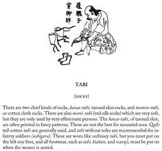 Tabi (socks), page 9.