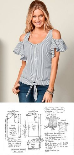 Plan Your Food Plan In Real 'Melonish' Style - My Website Dress Sewing Patterns, Blouse Patterns, Clothing Patterns, Fabric Sewing, Skirt Patterns, Sewing Clothes, Diy Clothes, Fashion Sewing, Sewing Hacks