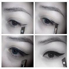 Eyeliner tutorial by @bethmakeupart ❤ #eyeliner #tutorial