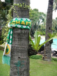 Der Kronen Schal in den Philippinen