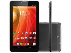 """Tablet Multilaser M7 8GB Tela 7"""" 3G Wi-Fi - Android 4.4 Proc. Dual Core Câmera 2MP + Frontal"""