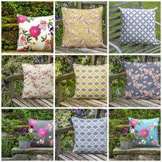Stunning new range of waterproof garden cushions coming soon. https://www.izabelapeters.com/garden-cushions