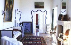 Nicola del Roscio-Gaeta-Italy-Cy Twombly-The World of Interiors-June 2004-Simon Upton